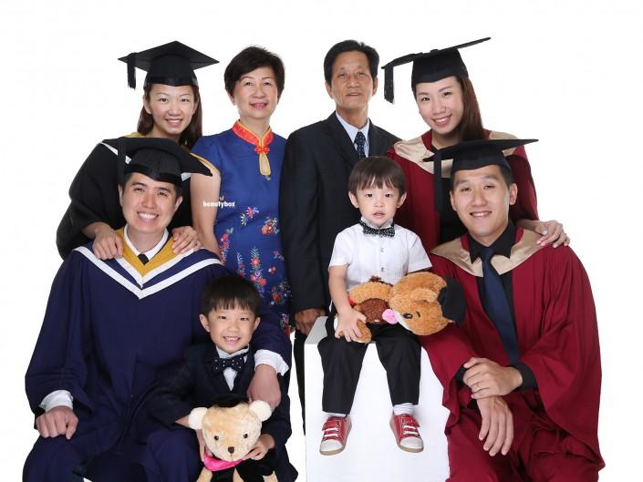 singapore professional graduation photo shoot services