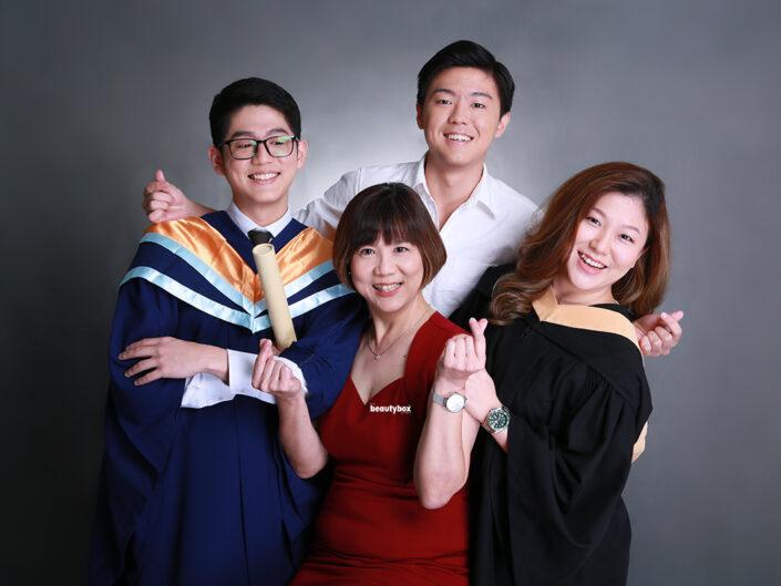 professional graduation photo shoot in singapore