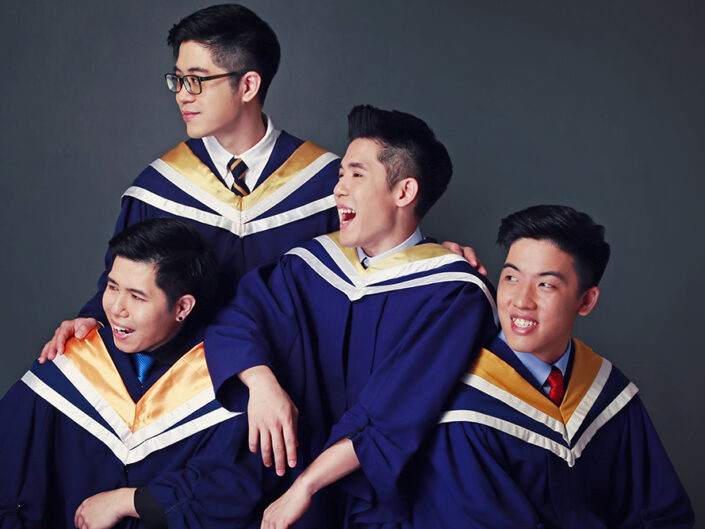professional graduation photo shoot
